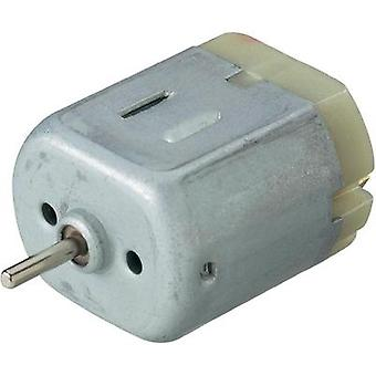 Miniature brushed motor Motraxx X-Train 263 H0 6440 rpm