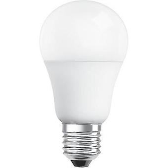 LED E27 Arbitrary 10 W = 60 W Warm white (Ø x L) 60 mm x 110 mm EEC: A+ OSRAM dimmable 1 pc(s)