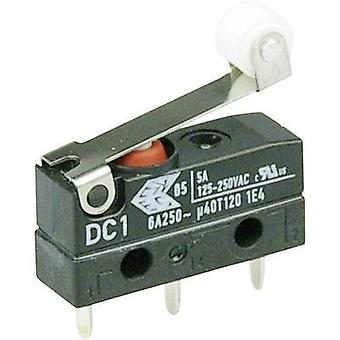 Microswitch 250 Vac 6 A 1 x On/(On) Cherry Switches DC1C-H1RB IP67 momentary 1 pc(s)