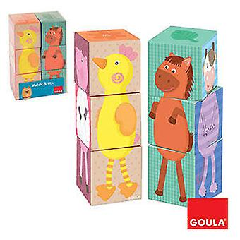 Goula Mix & Match (Toys , Preschool , Puzzles And Blocs)