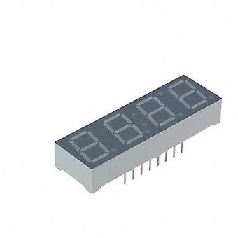 Seven-segment display Red 10 mm 2 V No. of digits: 4 Lite-On