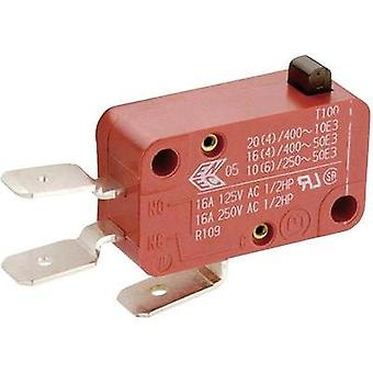 Microswitch 400 Vac 10 A 1 x On/(On) Marquardt 01006.1011-01 momentary 1 pc(s)