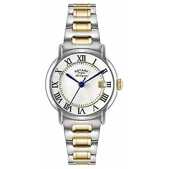 Rotary Mens Les Originales Carviano Two Tone GB90141/06 Watch