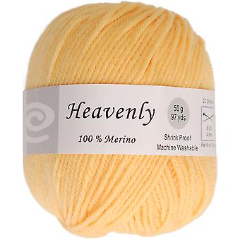 Heavenly Yarn -Lemon Yellow Q52-50-104