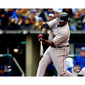 David Ortiz - 2007 Batting Action Photo Print
