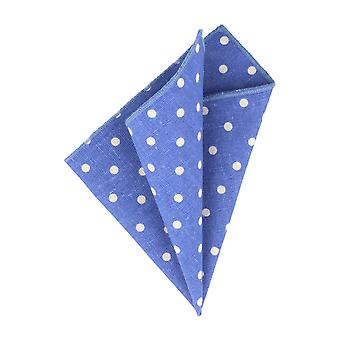 Snobbop blue handkerchief with white dots handkerchief Cavalier cloth