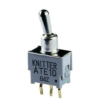 Toggle switch 48 V DC/AC 0.05 A 2 x On/On Knitter-Switch