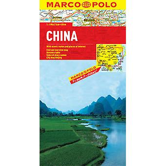 China Marco Polo Map by Marco Polo