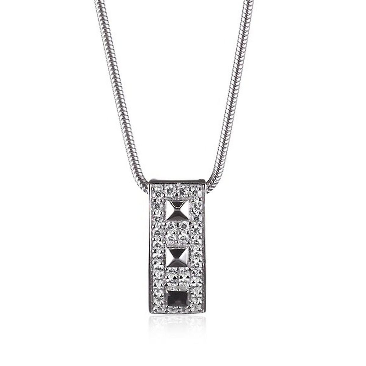 s.Oliver Jewel Damen Kette Collier Silber Zyrkonia SO632/1 - 385718