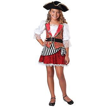 Pretty Pirate of the Carribbean Buccaneer Child Girls Costume