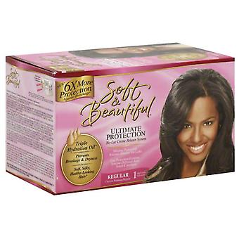 Soft & Beautifull S & B Relaxer Kit Regular (Hair care , Styling products , Treatments)