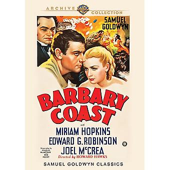 Barbary Coast [DVD] USA import
