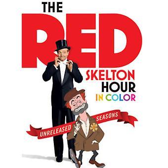 Rød Skelton time i farve: The Unreleased Seasons [DVD] USA import