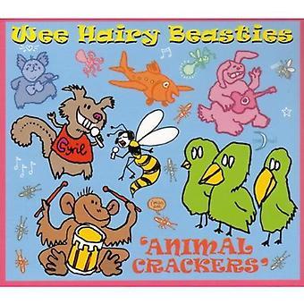 Wee Beasties peludo - galletas de animalitos [CD] USA importar