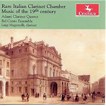 Cavallini/Carulli/Klose/Pan - Rare Italian Clarinet Chamber Music of the 19th Century [CD] USA import