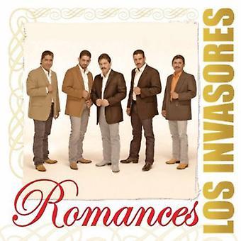 Los Invasores De Nuevo Leon - romancer [CD] USA import