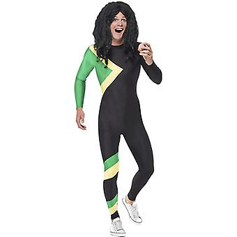 Jamaica hero costume Jamaica bobsleigh suit men