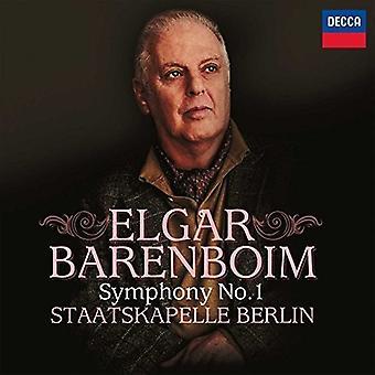 Barenboim/Staatskape - Elgar: Symphony No.1 [CD] USA import