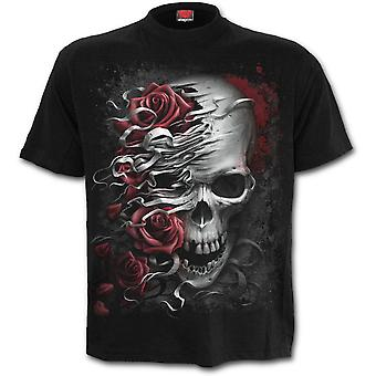 Spiral - SKULLS N ROSES - Men's Black Short Sleeve T-Shirt