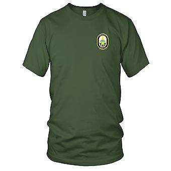 US Navy DDG-100 USS Kidd Embroidered Patch - Mens T Shirt