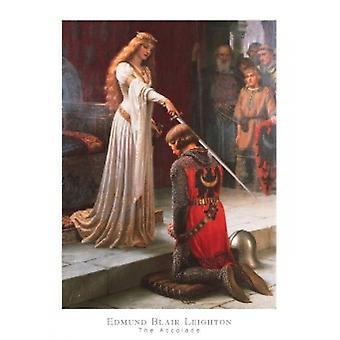 Die Auszeichnung Poster Print von Edmund Blair Leighton (24 x 32)