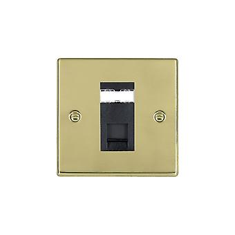 Hamilton Litestat Hartland Polished Brass 1g RJ12 Outlet-Unshield BL