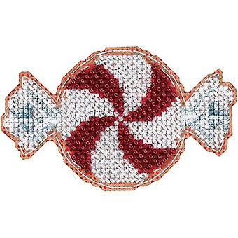 Peppermint Candy Counted Cross Stitch Kit-2