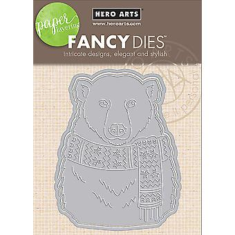 Hero Arts Paper Layering Dies-Bear With Frame DI402