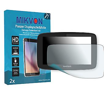 TomTom Go 620 Screen Protector - Mikvon Armor Screen Protector (Retail Package with accessories)
