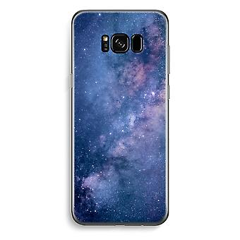 Samsung Galaxy S8 Transparent Case - Nebula