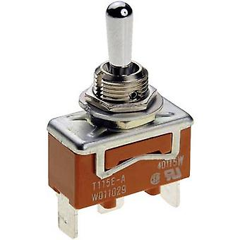 Toggle switch 250 V AC 15 A 1 x On/Off/(On) Panasonic