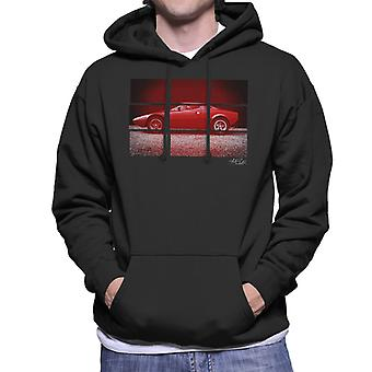 Lancia Stratos Prototype Coupe Bertone Men's Hooded Sweatshirt