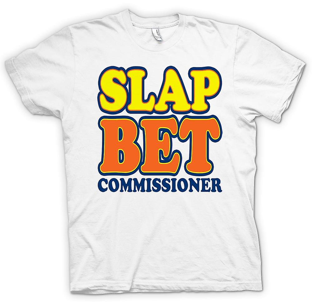 Mens T-shirt - Slap Bet Commissioner