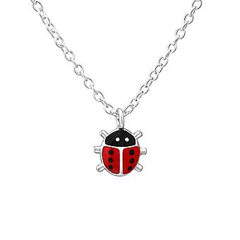 Ladybug - 925 Sterling Silver Necklaces - W35625x