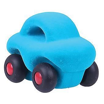 Rubbabu The Micro Wholedout Car (Turquoise)