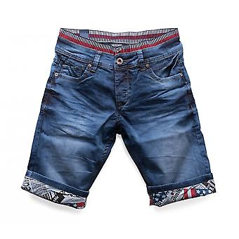 Men's Shorts stretch shorts denim jeans shorts elastic rubber band Nr. 1506