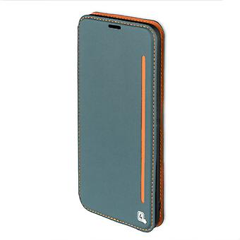 Flip case for Samsung Galaxy S8 + G955 G955F sleeve case pouch blaugrau orange