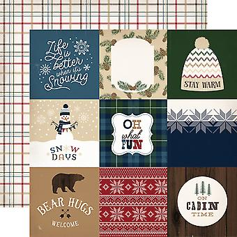 Cabin Fever ' Double-Sided Cardstock 12