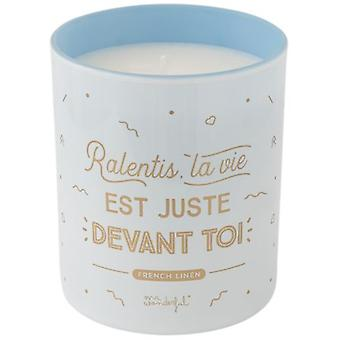 Mr. Wonderful Candle Ralentis Life Is Right Before You (Perfumes , Home Fragrances)