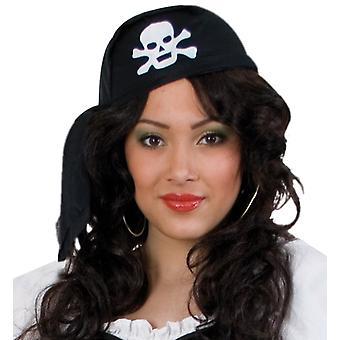 Piraat hoofddoek bandana Totenkopf Cap