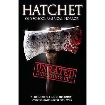 Locandina del film hatchet (11 x 17)