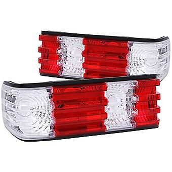 Anzo USA 221132 Mercedes-Benz Red/Clear Tail Light Assembly - (Sold in Pairs)