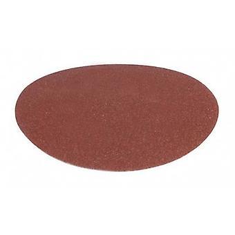 Sandpaper sheet (hand sanders) Grit size 100 (Ø) 150 mm