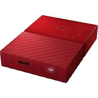 WD My Passport™ 2.5 externe Festplatte 3 TB Red USB 3.0