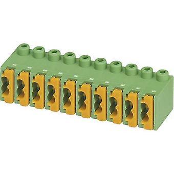 Phoenix Contact FK-MPT 0,5 / 3-ST-3,5 a molla terminale numero di perni 3 verde 1/PC