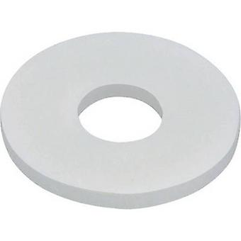 TOOLCRAFT 800281 Washers Inside diameter: 3.2 mm M3 DIN 125 Plastic 10 pc(s)