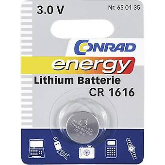 Button cell CR1616 Lithium Conrad energy CR1616 45
