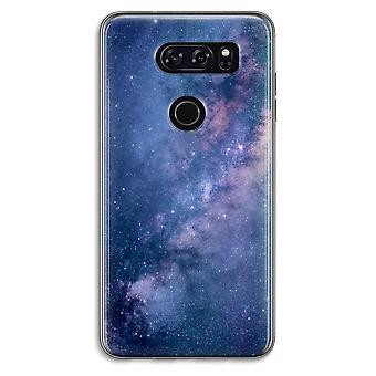 LG V30 Transparent Case (Soft) - Nebula