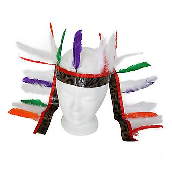 Indian headdress spring accessory of Wild West