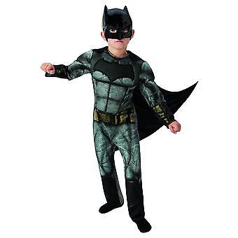 Traje-crianças justiça Batman liga Deluxe super-herói em quadrinhos carnaval